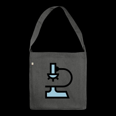 Laboratory microscope - Shoulder Bag made from recycled material