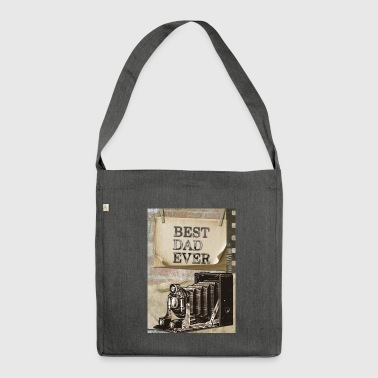 Best dad - Shoulder Bag made from recycled material