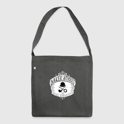 Baker Street logo - Shoulder Bag made from recycled material
