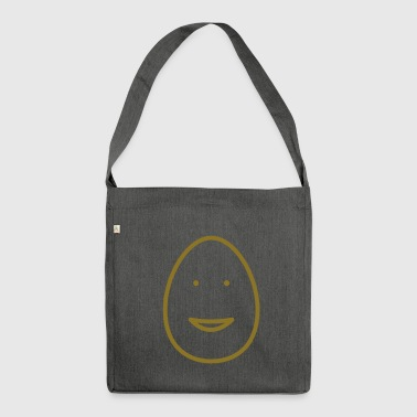 Egg Face Open Smile - Borsa in materiale riciclato