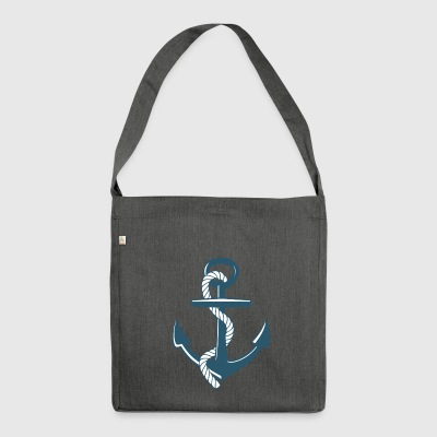 anchor - Shoulder Bag made from recycled material