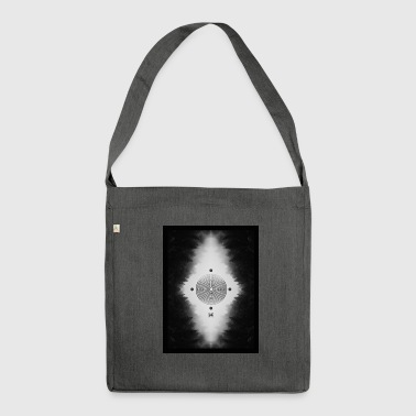 Labyrinth - Schultertasche aus Recycling-Material
