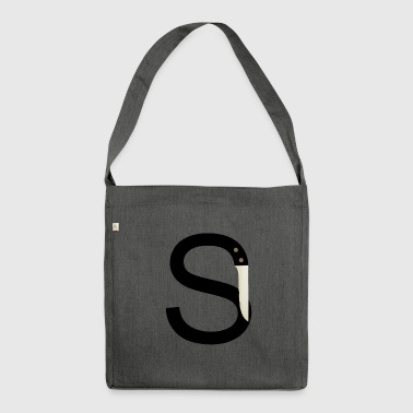 Sharp S - Shoulder Bag made from recycled material