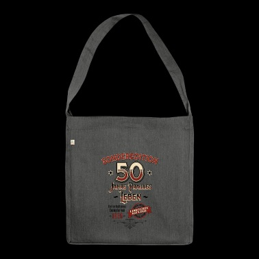 Special edition 50 years of bulging life 1968 Limited - Shoulder Bag made from recycled material