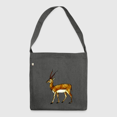Antilope - Schultertasche aus Recycling-Material