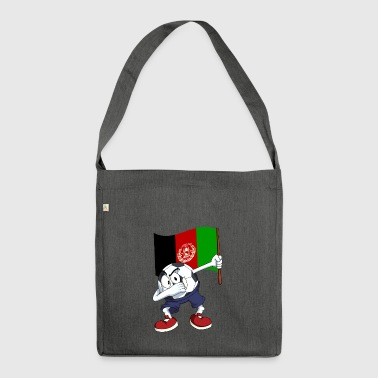 Afghanistan Dabbing football - Shoulder Bag made from recycled material