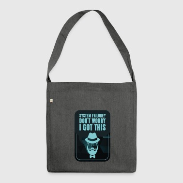 Geek Gift Computer Science Sayings Nerd Computer - Shoulder Bag made from recycled material