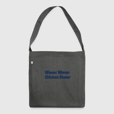 Winner Winner Chicken Dinner - Shoulder Bag made from recycled material