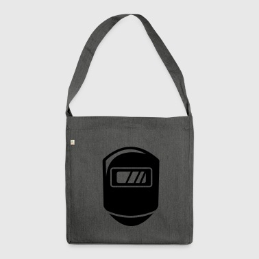 Welder handmask gift - Shoulder Bag made from recycled material