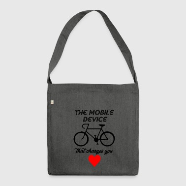 mobile divice - Shoulder Bag made from recycled material