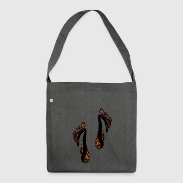 feet - Shoulder Bag made from recycled material