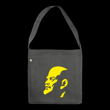 Communist Lenin - Shoulder Bag made from recycled material