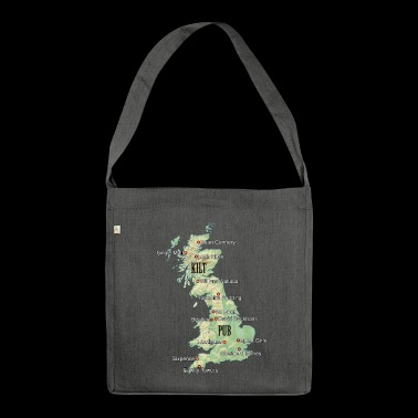 Uk Atlas - Bandolera de material reciclado