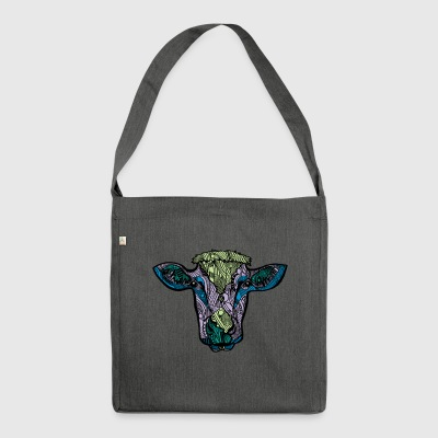Cow - Shoulder Bag made from recycled material