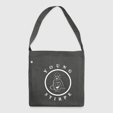 YOUNG.STIRPE - Schultertasche aus Recycling-Material