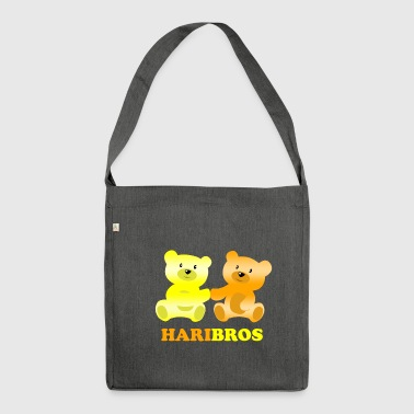 Haribros - The shirt for real Bros - Shoulder Bag made from recycled material