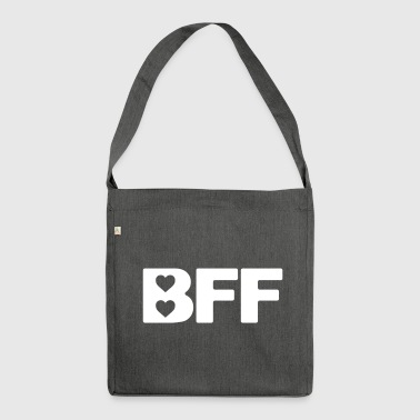 Best Friends Forever - Shoulder Bag made from recycled material
