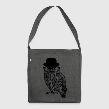 Gentleman Owl - Shoulder Bag made from recycled material