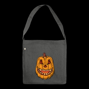 Pumpkin - pumpkin - Shoulder Bag made from recycled material