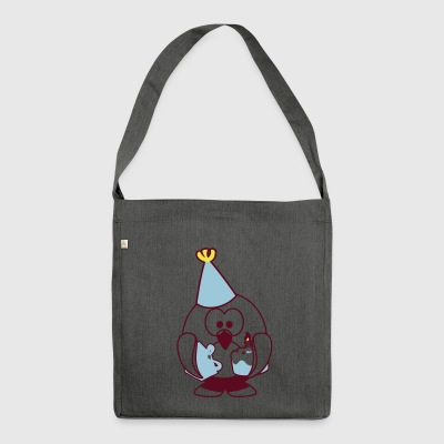 Linux celebration - Shoulder Bag made from recycled material
