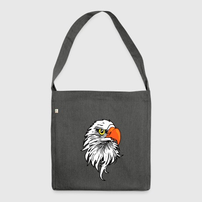 Eagle comic - Shoulder Bag made from recycled material