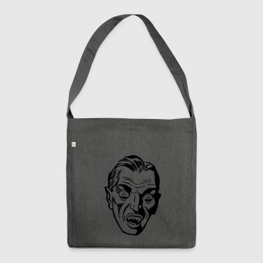 Dracula - Schultertasche aus Recycling-Material