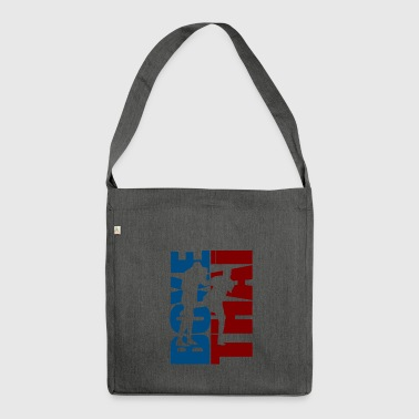 Thai Boxing - Shoulder Bag made from recycled material