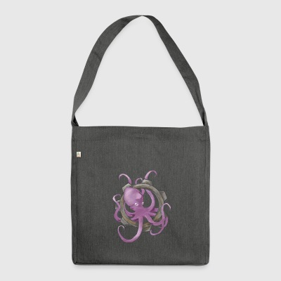 Octopus - Shoulder Bag made from recycled material