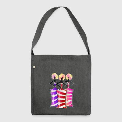 The dancers - Shoulder Bag made from recycled material