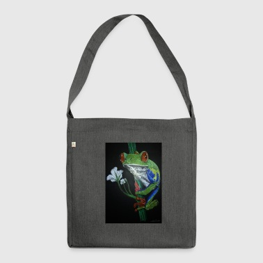 frog frog - Shoulder Bag made from recycled material