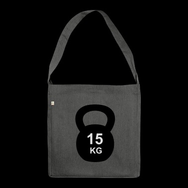 Kettlebell 10 kg - Shoulder Bag made from recycled material