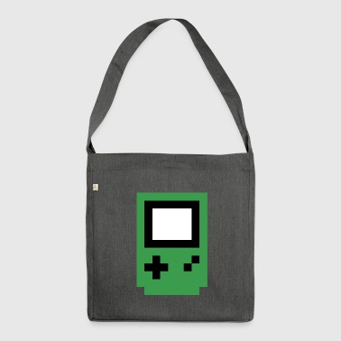 green console - Shoulder Bag made from recycled material