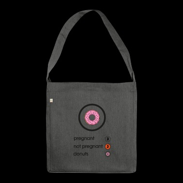 Pregnant donuts - Shoulder Bag made from recycled material