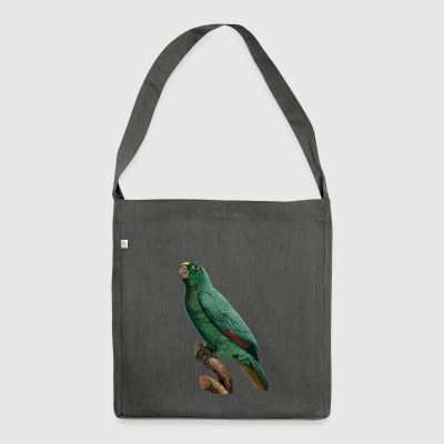 Parrot Parrot Parakeet Parakeet Birds Birds11 - Shoulder Bag made from recycled material