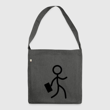 Stickman Business - Shoulder Bag made from recycled material