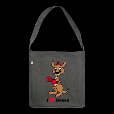 kangaroo - Shoulder Bag made from recycled material