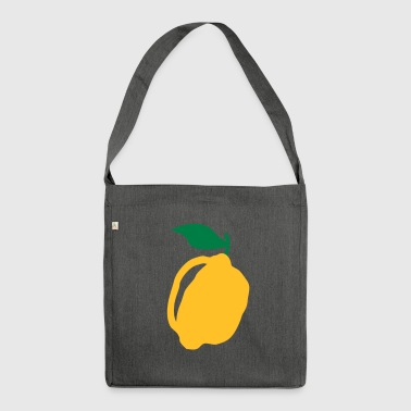 lemon - Shoulder Bag made from recycled material