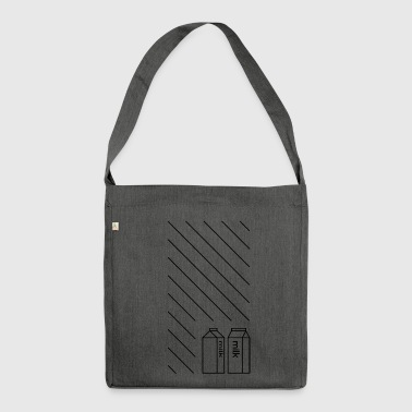 Milk - Shoulder Bag made from recycled material