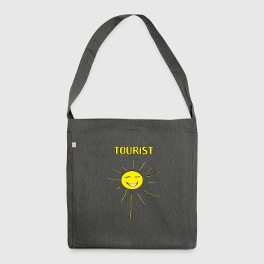 tourist - Shoulder Bag made from recycled material