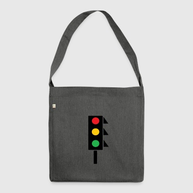 traffic light - Shoulder Bag made from recycled material