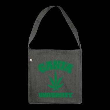 Ganja University - Shoulder Bag made from recycled material
