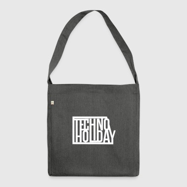 Techno Holiday - Bandolera de material reciclado
