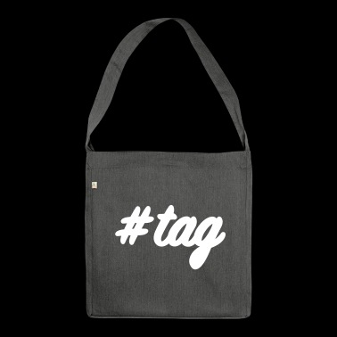 #tag - Schultertasche aus Recycling-Material