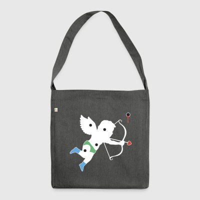 El Cupid Bullet Hole - Shoulder Bag made from recycled material