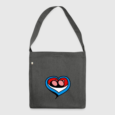 heart minne - Shoulder Bag made from recycled material