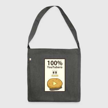 100% YouTubero WC-Man - Shoulder Bag made from recycled material