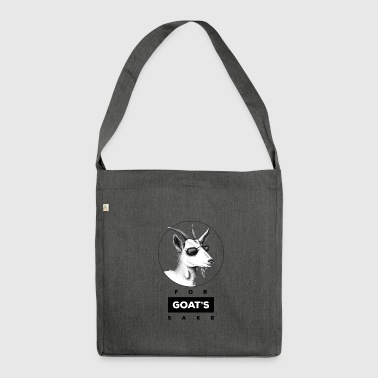 For Goat's Sake - Shoulder Bag made from recycled material