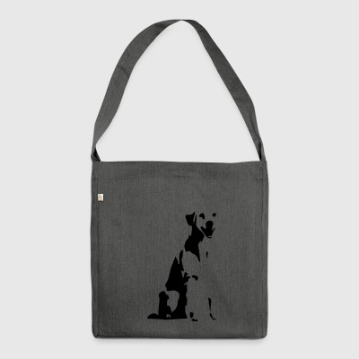 dog - Shoulder Bag made from recycled material