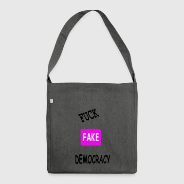fake democracy - Shoulder Bag made from recycled material