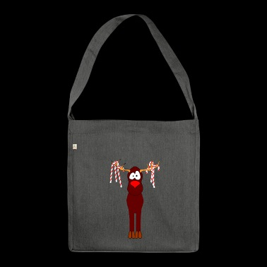 reindeer - Shoulder Bag made from recycled material